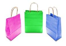 Бумажные сумки Стоковые Фото