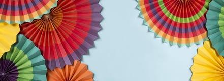 Бумажные фонарики стоковое изображение