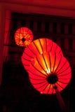 Бумажные фонарики Стоковые Изображения RF