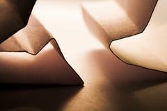 Бумажные формы Стоковое фото RF