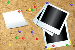 бумажные фото Стоковое Изображение RF