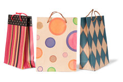 Бумажные хозяйственные сумки Стоковая Фотография