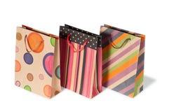 Бумажные хозяйственные сумки Стоковые Изображения RF