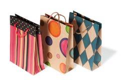 Бумажные хозяйственные сумки Стоковые Фотографии RF