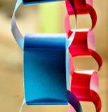 Бумажные цепи стоковая фотография rf