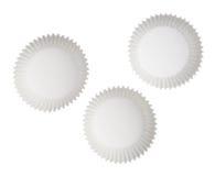 Бумажные чашки булочки Стоковые Изображения