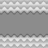 Бумажные шнурки иллюстрация вектора