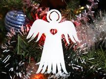 Бумажный ангел рождества Стоковая Фотография