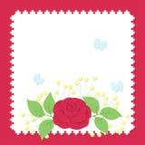 Бумажный букет стиля Стоковое Изображение