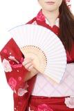 Бумажный вентилятор Стоковое Изображение