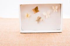 Бумажный вырез для того чтобы сделать различный тип butterflyes Стоковые Фото