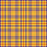 бумажный желтый цвет шотландки стоковые изображения rf