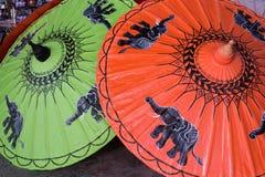 бумажный зонтик Стоковые Изображения