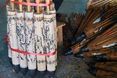 бумажный зонтик Стоковая Фотография RF