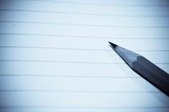 бумажный карандаш Стоковые Изображения