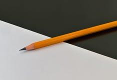 бумажный карандаш Стоковое Фото