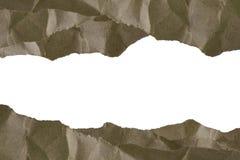 Бумажный коричневый путь клиппирования предпосылки рамки и пустой космос для веб-дизайна или изображения графического искусства Стоковые Фото