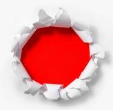 бумажный красный цвет Стоковое Фото
