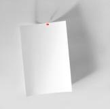 бумажный лист Стоковое Изображение RF