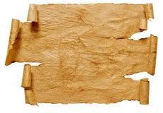 бумажный перечень Стоковая Фотография RF