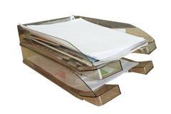 бумажный поднос Стоковое Фото