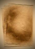 бумажный пожелтетый сбор винограда Стоковое фото RF