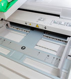 Бумажный поднос печатного станка Стоковое Фото