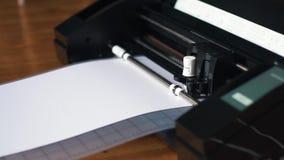 Бумажный режа прокладчик, единорог бумаги акции видеоматериалы
