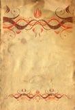 бумажный сбор винограда Стоковые Фото