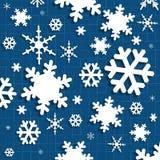 Бумажный снег искусства Стоковое Фото