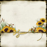 бумажный солнцецвет бесплатная иллюстрация