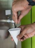 Бумажный стаканчик Стоковые Фото