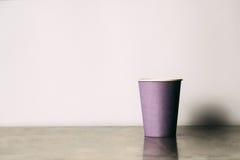 Бумажный стаканчик Стоковые Изображения RF