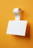 Бумажный стикер Стоковое фото RF