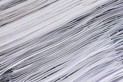 бумажный стог Стоковые Фото