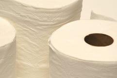бумажный туалет Стоковая Фотография