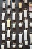 бумажный туалет Стоковое Изображение RF