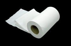 бумажный туалет Стоковые Изображения