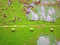 бумажный утиль на зеленом цвете Стоковая Фотография RF