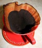 Бумажный фильтр кофе Стоковая Фотография RF