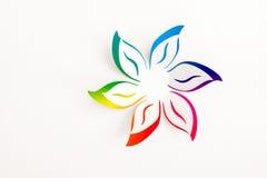 бумажный цветок Стоковое Изображение RF