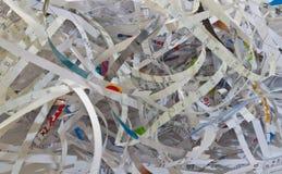 бумажный shredding стоковые фото