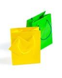 2 бумажных мешка Стоковые Фотографии RF
