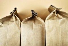 3 бумажных мешка Стоковая Фотография RF