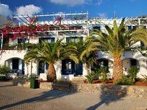 Бунгала сложное Stalis - Крит - Греция Стоковое Фото