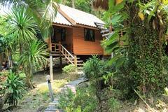 Бунгало в zhipling на острове Koh Chang Стоковое фото RF