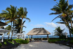 Бунгало на пляже Флориды Стоковое фото RF