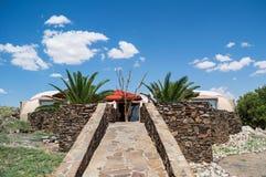 Бунгало ложи около пасьянса, Намибии Стоковые Изображения