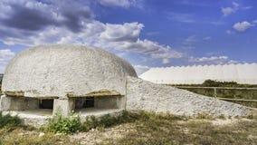 Бункер войны стоковое изображение