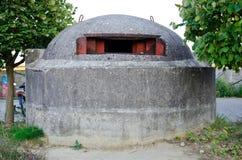 Бункер войны Стоковое Фото